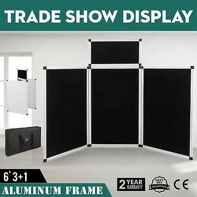 5.9 X 3FT Trade Show Display Presentation 3 Panel + 1 Header EXTREMELY EFFICIENT