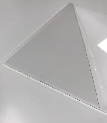 Clear Acrylic Sheet 3mm Various Sizes Available (similar to Perspex)