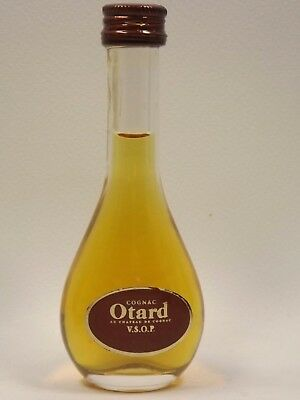 Cognac Otard VSOP 3 cl 40% mini flasche bottle miniature bottela mignonnette