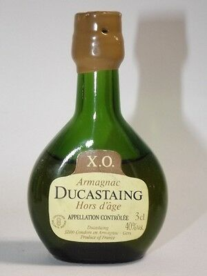DUCASTAING ARMAGNAC XO 3 cl 40%  mini flasche bottle miniature FRANCE