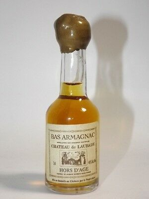 BAS ARMAGNAC 3 cl 40%  mini flasche bottle miniature FRANCE