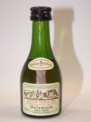 Cognac Delamain 3 cl 40% mini flasche bottle miniature bottela mignonnette