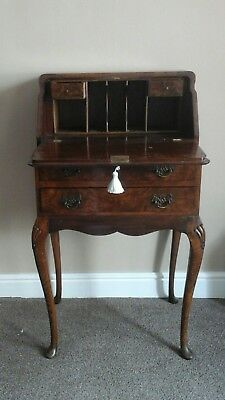 Antique  walnut ladies bureau