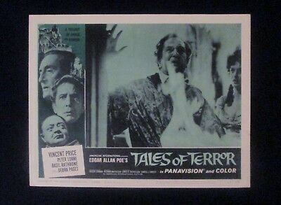 1962 Original Tales of Terror Horror Movie Lobby Movie Card#4 Vincent Price.