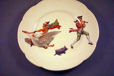 VERY SWEET ROYAL DOULTON NURSERY WARE PLATE c.1932 - PERFECT