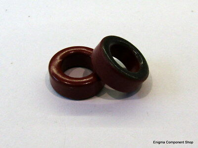 1/2/5/10 x T50-2 Red Iron Ferrite Toroid. AMIDON. UK Seller - Fast Dispatch.
