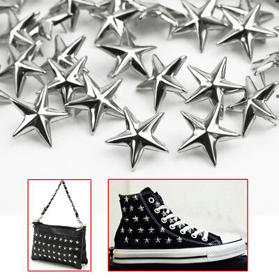 Accessories Rock Punk Spots Nailhead Star Rivets Studs Spikes Leather Craft