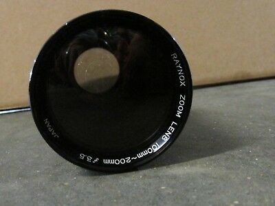 Raynox slide projector zoom lens 100mm - 200mm f/3.5