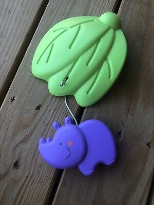 Fisher Price Luv U Zoo Jumperoo Hanging Hippo toy Replacement Part