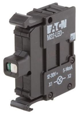 Eaton M22 Light Block LED Green 12 â?? 30 V ac/dc Screw terminal