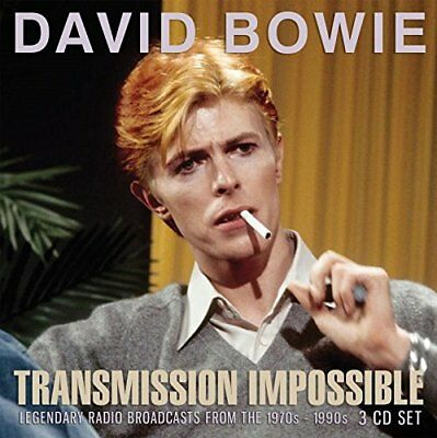 DAVID BOWIE 'TRANSMISSION IMPOSSIBLE' (1970s-1990s Broadcasts) 3 CD SET (2018)