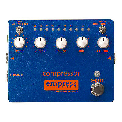 Empress Effects Compressor Guitar & Bass Pedal