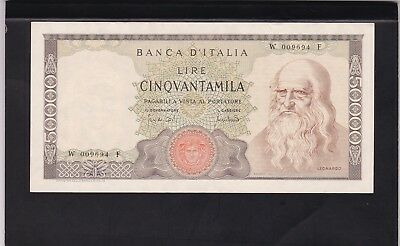 Italy 50 000 Lire 1970,replacement Banknote.rare!!! (Dd)