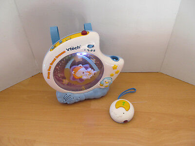 Vtech Sleepy Bear Sweet Dreams Lullaby Projector Cot Mobile Age Birth +
