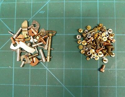 Job Lot Of Vintage Alarm / Travel Clock Keys And Setters.