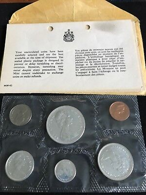 Set Of 1867-1967 Centennial Canadian Uncirculated Coin Set