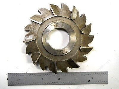 NEW USA MADE ITW 4 x 7/16 x 1-1/4 STAGGER TOOTH SIDE MILLING CUTTER