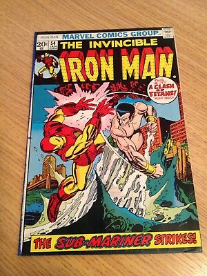 Marvel The Invincible Iron Man #54  1st Moondragon Appearance