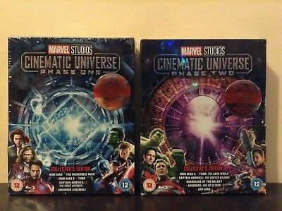 Marvel Studios Cinematic Universe Phase 1 & 2 - Collector's Edition (Blu-ray)