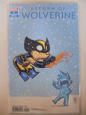 Return of Wolverine #1 Skottie Young Variant Marvel VF/NM Comics Book