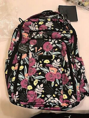 Jujube Black And Bloom Be Right Back BRB Backpack