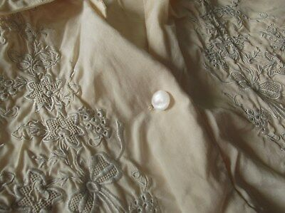 old Chinese silk blouse size about a 10