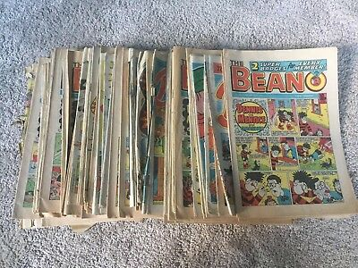 1985-86 Beano, Buster, Whizzer And Chips, Magazines x54