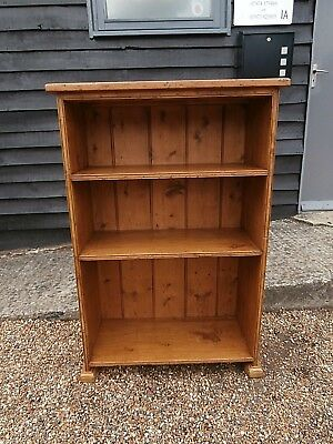 LOVELY 19th CENTURY PINE BOOKSHELF BOOKCASE ANTIQUE VICTORIAN - WE CAN DELIVER