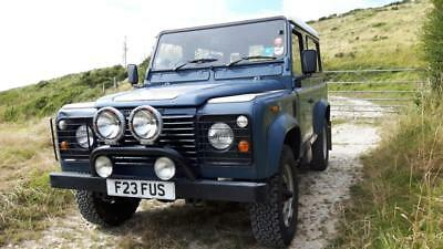 Land Rover 90 Turbo Diesel (TD) County Station Wagon. Pre - DEFENDER