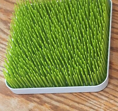 BOON GRASS COUNTER TOP DRYING RACK IN GREEN, 9 x 9