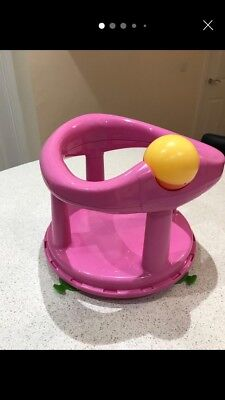 Baby First Bath Seat, Pink