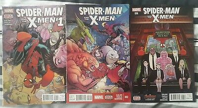 Spider-Man And The X-Men #1, 2 + 6