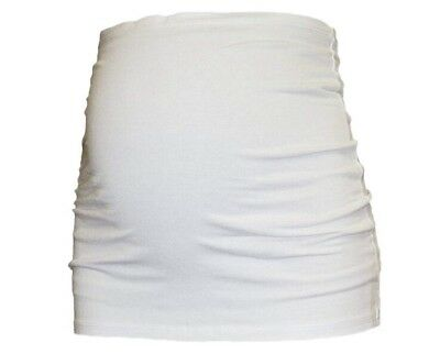 Pregnancy Belly Band White Small S NWT