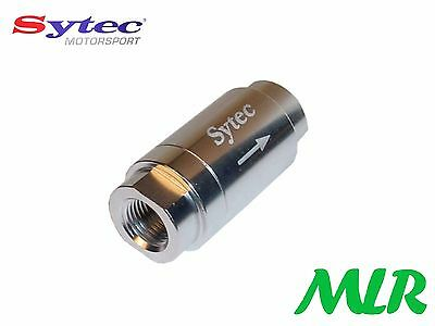 Sytec One Way Valve Carburant avec 1/8NPTF Femelle Connections Injection ou Carb