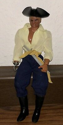Selten ✨Action Figur ✨Big Jim Captain Uncino 1978 70er vintage
