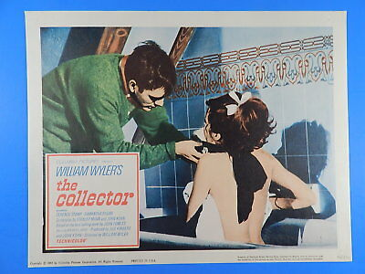 The Collector Original Lobby Card Set Of 8 11X14 Terrence Stamp, Samantha Eggart