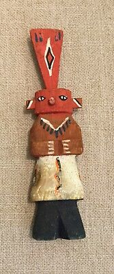 Vintage Kachina Doll Wood Carved Hand Painted