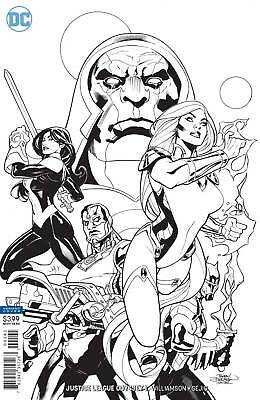 Justice League Odyssey #1 Black And White Variant 1:50 Dc Comics!