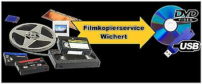 10x digitalisieren Digital8 Video8 Hi8, MiniDV Kamera Camcorder Kassette auf DVD