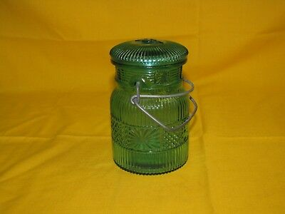 Jar Avon Jar With Lid Bottle Container  Decorative Collectible
