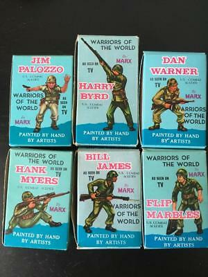 Warriors Of The World Figures Collection U S Combat Soldiers And Cards In Boxes