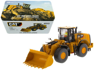 CAT Caterpillar 980M Wheel Loader with Rock Bucket and Operator High Line Series