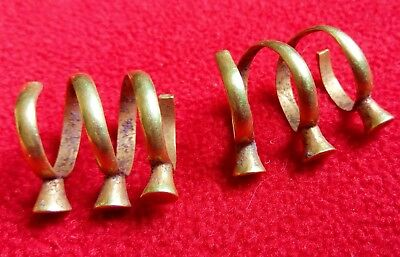 Antique gold . Metal detector finds.Collection of antique gold
