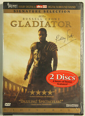 Gladiator Signature Selection (Two-Disc Collector's Edition) by Dreamworks NEW~!