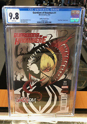 Guardians of Knowhere 1 CGC 9.8 Guillory Variant Marvel Comics Gwenom