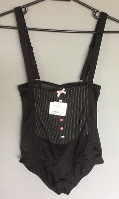"Ann Summers ""Personal Assistant"" Black Size M NWT (RRP £25)"