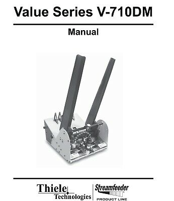 MAILCRAFTER Value Series V-710DM Operating and Parts Manual (035)