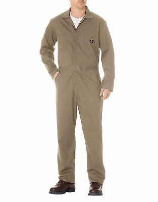 Dickies Men's Basic Cotton Coverall, Khaki, 2X/Regular