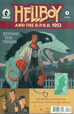 Hellboy And The B.P.R.D. 1953 Beyond The Fences #2 Mignola Rivera BPRD NM/M 2016