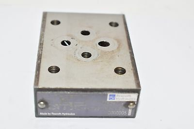 Bosch Rexroth ZDR 6 DPO-44/25YM W80 Pressure reducing valves, sandwich module
